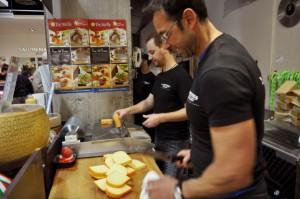 La Bottega, great cheese advice from John