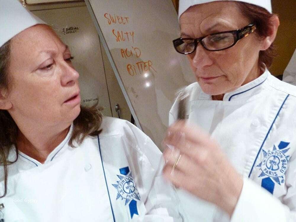 Le Cordon Bleu Students, Susan Douglas & Nicole Diotte - Food Gypsy