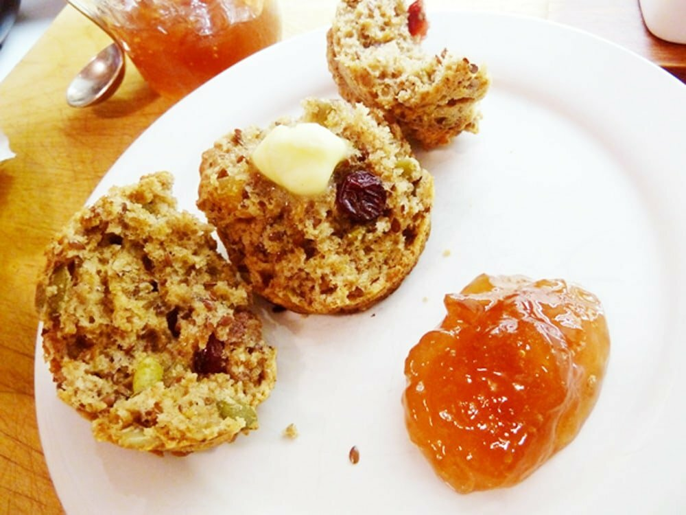 Nutty-Buddy-Bran-Muffins - Food Gypsy