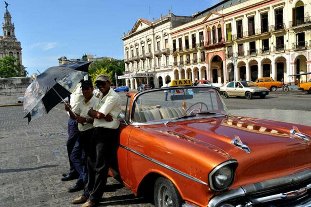 Old Havana, Cab Drivers - Food Gyspy
