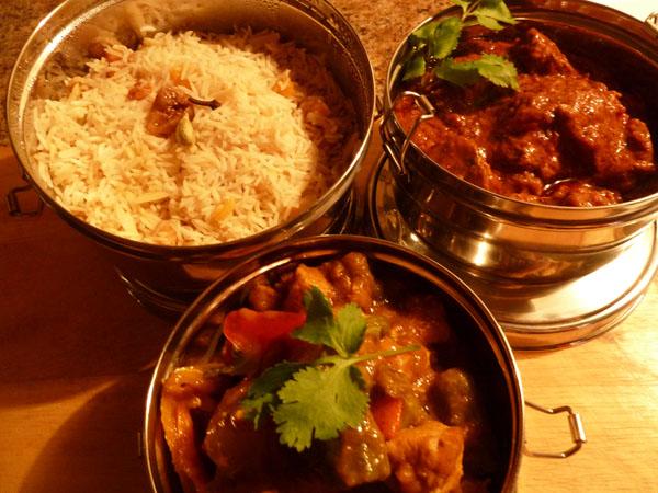Gypsy Cooking, Bollywood Menu II