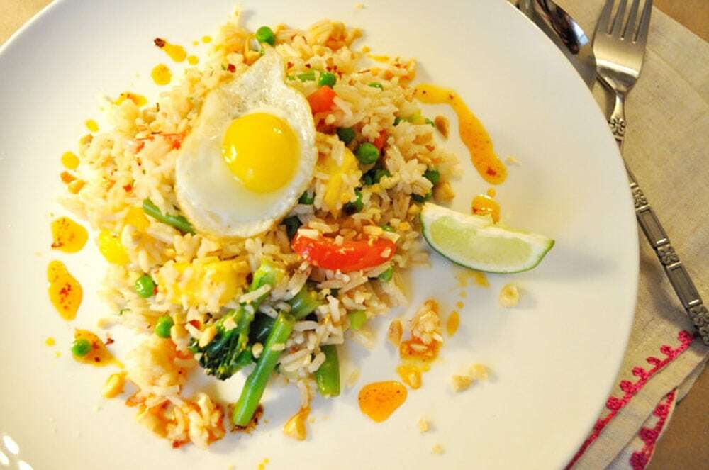 Thai Fried Rice With Egg - Food Gypsy