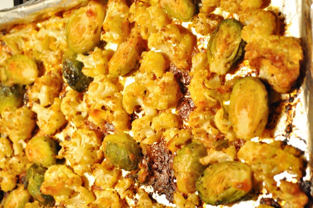 Roasted Cauliflower A La Cheese - Food Gypsy