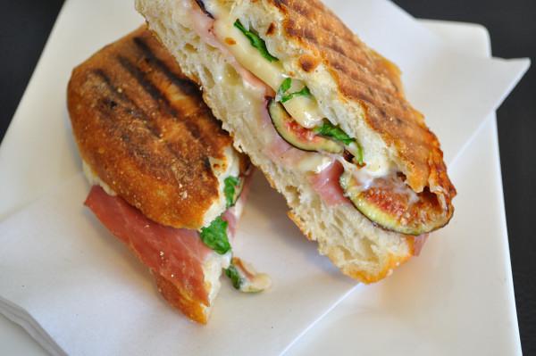 Chez Edgar, prosciutto & fresh fig sandwich - Food Gypsy