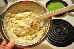 Lumpy Stuffing-Waffle Batter - Food Gypsy