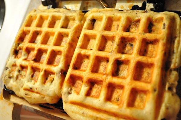 Stuffing-Waffles - Food Gypsy
