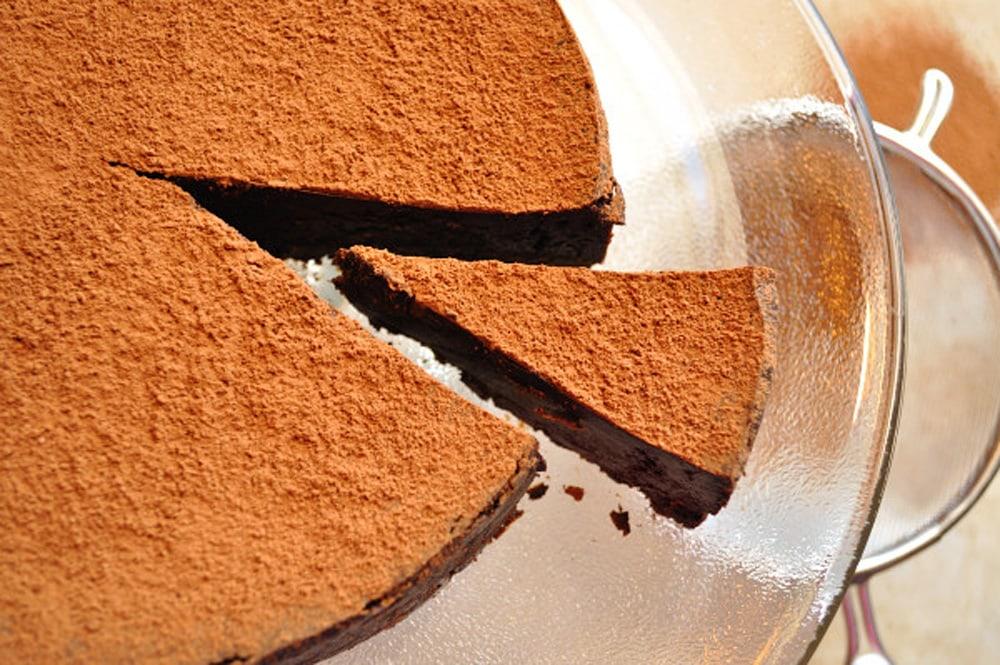 Chocolate Espresso Truffle Cake - Food Gypsy