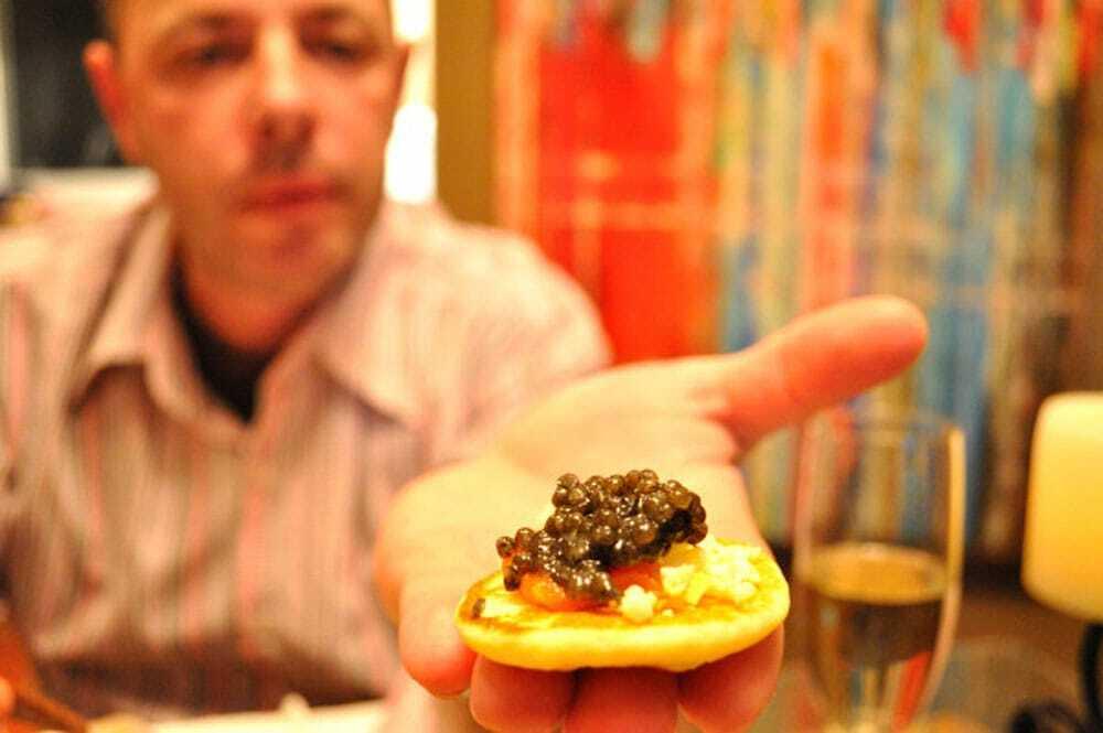 Chef B & Caviar - Food Gypsy