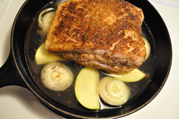 Pork belly ready to simmer - Food Gyspy