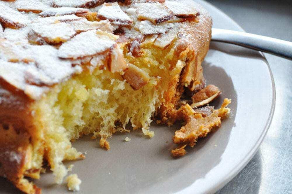 Almond Brioche Toast, Art Is In Bakery - Food Gypsy