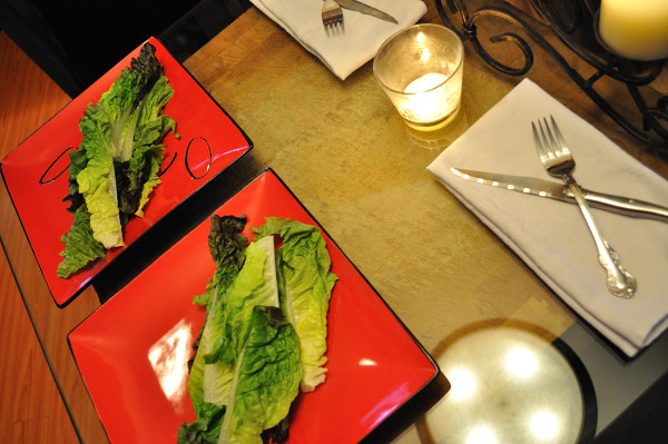 Whole lettuce leaves - Food Gypsy