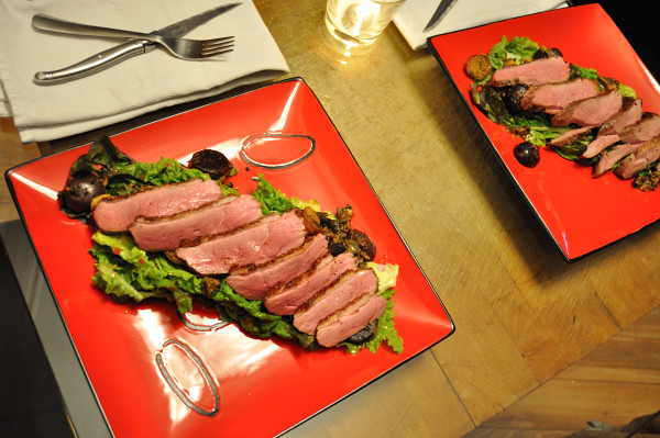 Seared Duck Breast for two - Food Gypsy