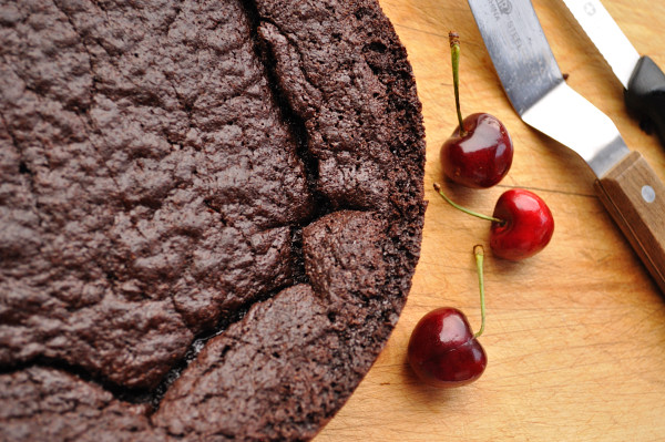 Chewy Gooey Chocolate Cherry Brownies - Food Gypsy