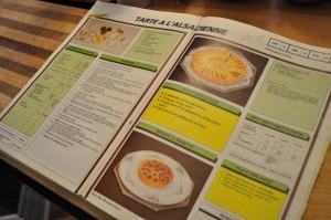 One of Chef B's school books - Food Gypsy
