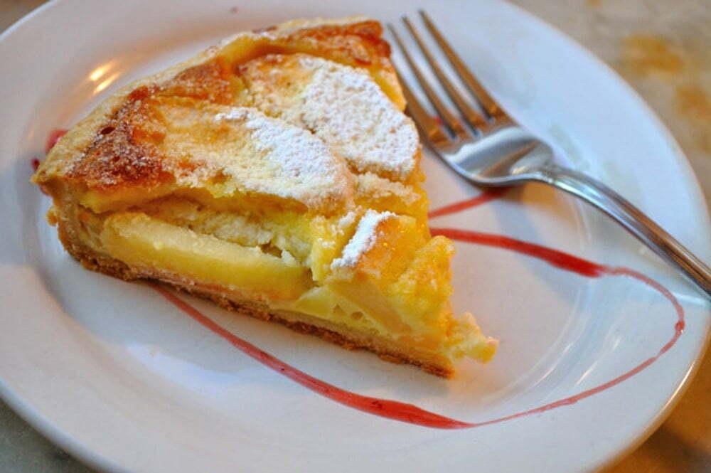 Tarte A L'Alsacienne (Apple Custard Pie) - Food Gypsy