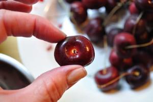 Cherry, the flat side - Food Gypsy