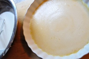 Custard crust, baked - Food Gypsy