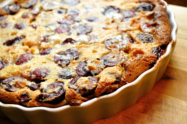 Clafoutis, fresh from the oven - Food Gypsy