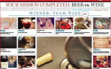 Gastropost 10/26/13 Beer Vs. Wine - Food Gypsy