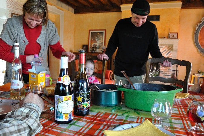 Lunch, in France - Food Gypsy