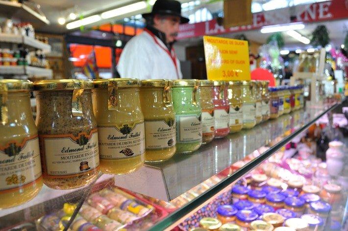 Dijon`s famous mustard - Food Gypsy