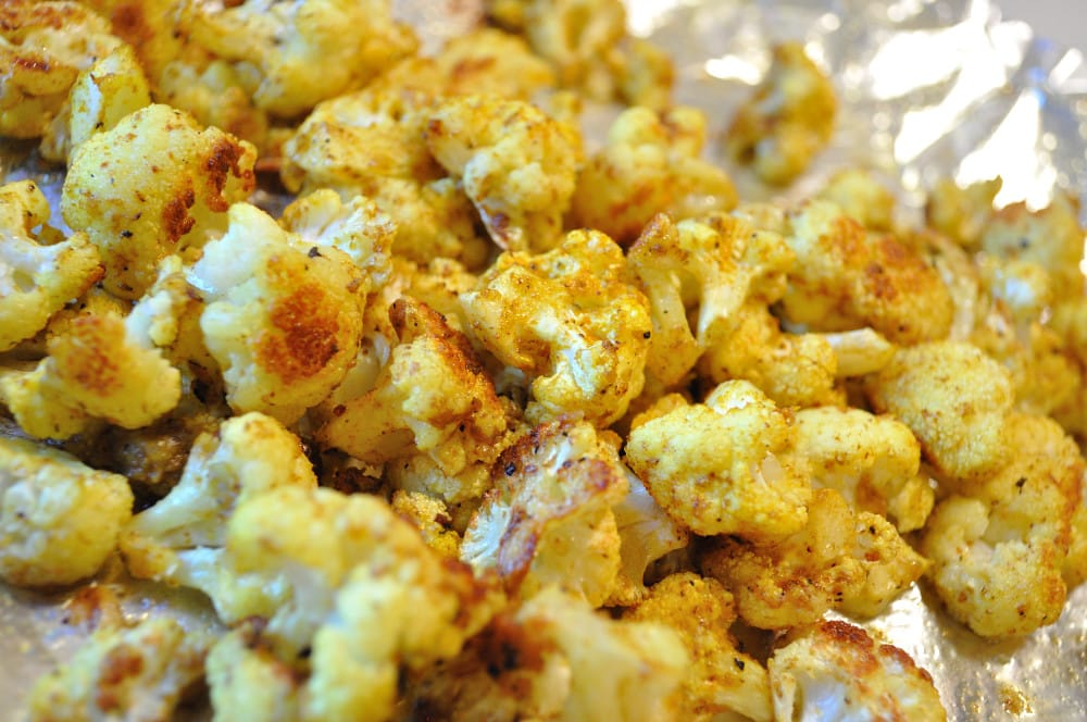Curry Roasted Cauliflower - Food Gypsy