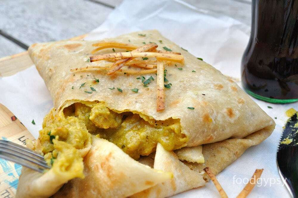 Trini Roti Recipe, Food Gypsy