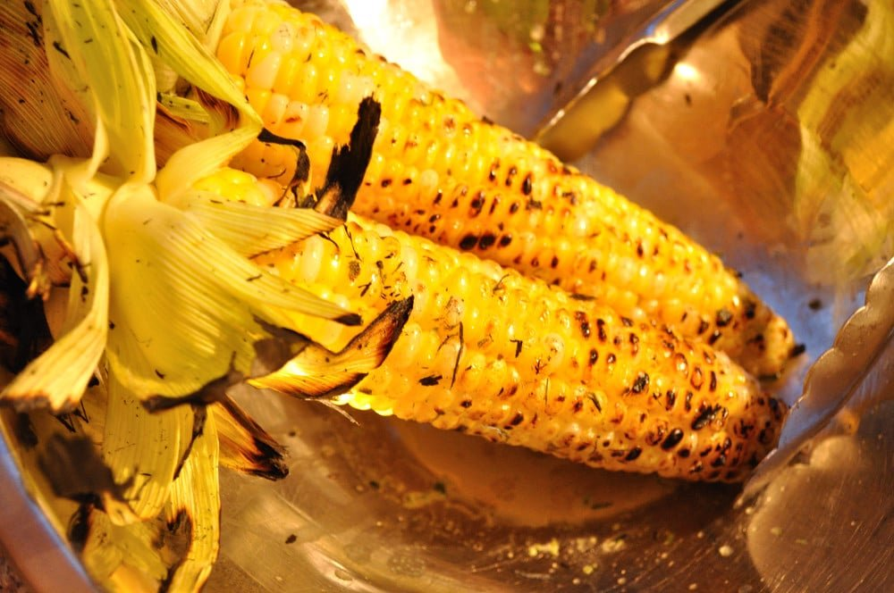 Lime Cilantro Grilled Corn - Food Gypsy