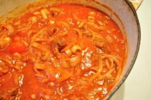 Stew beef, onions & spices - Food Gypsy