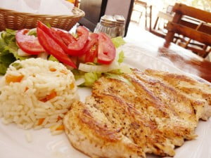 Chicken and rice, Talum Mexico - Food Gypsy