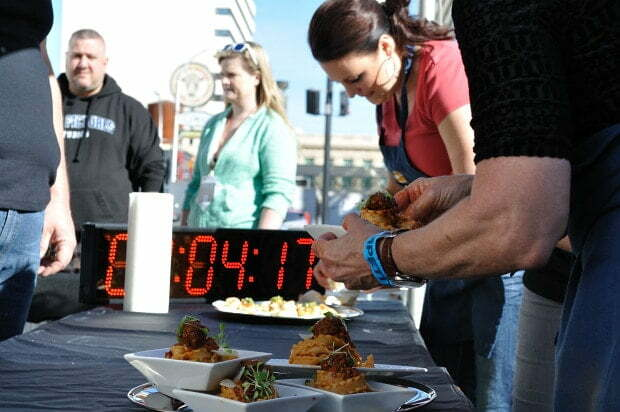 Racing against the clock in the recipe competition - Food Gypsy