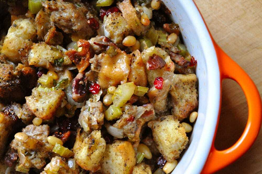 Vegan Stuffing, Healthy Holiday Alternatives - Food Gypsy