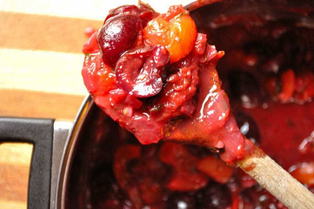 Tangy Fruit Chutney - Food Gypsy