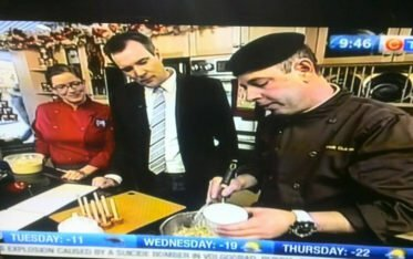 CTV Morning Live With Jeff Hopper, Me & Chef B - Food Gypsy