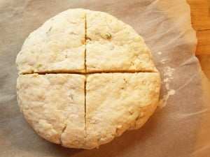 Irish Soda Bread, scored - Food Gypsy