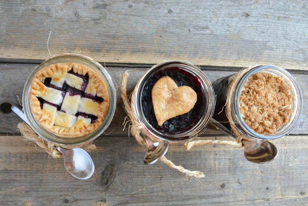 Pie in a jar, 3 ways - Food Gypsy
