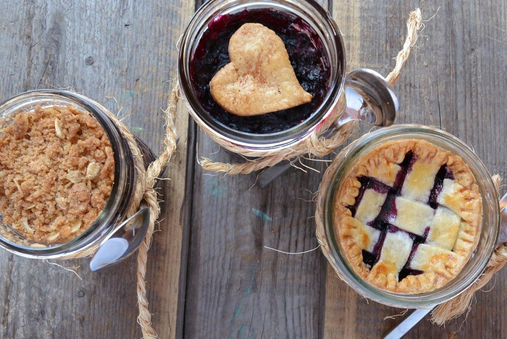 Pie In A Jar, Three Ways - Food Gypsy