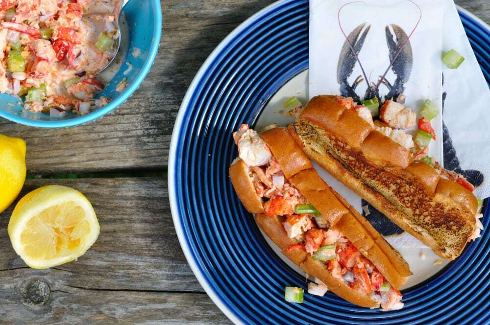 Grilled Nova Scotia Lobster Rolls - Food Gypsy