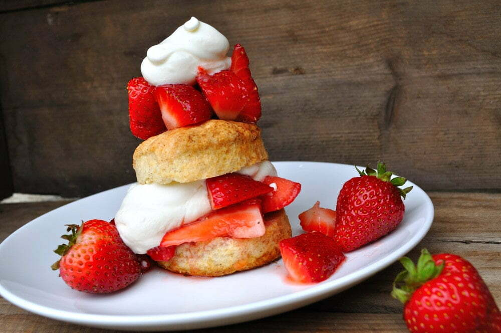 Maple Strawberry Shortcake - Food Gypsy