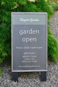 Tangled Garden, Entrance - Food Gypsy