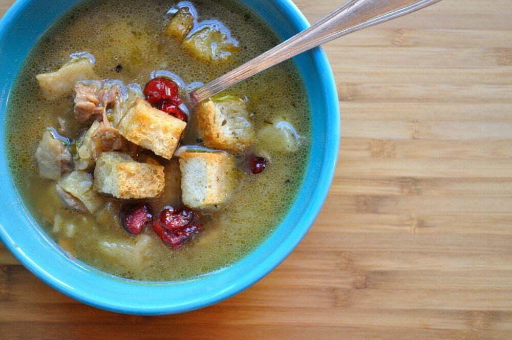 Roasted Turkey New Potato Soup - Food Gypsy