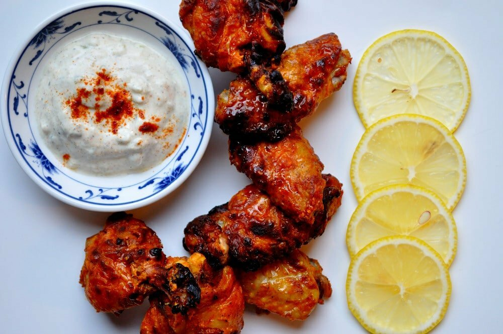 Tandoori Chicken Wings - Food Gypsy