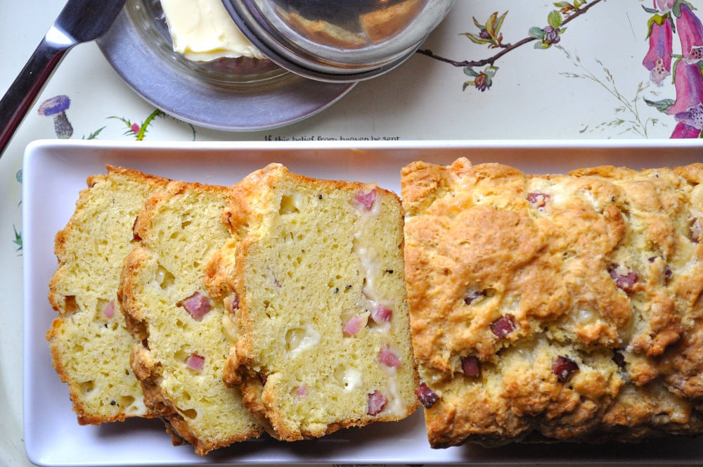 Savoury Ham & Cheese Loaf - Food Gypsy