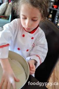 Chocolate Torte, prep - FG