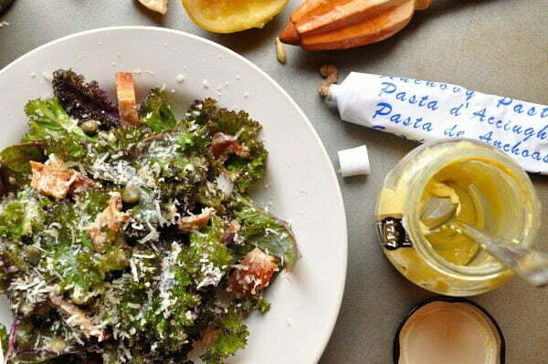 Kale Caesar Salad, ingredients - FG