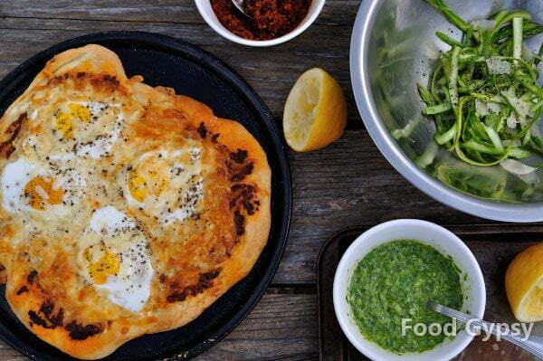 Breakfast pizza, baked - FG