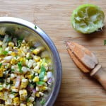 Mexican Grilled Corn Salsa, Lead - FG