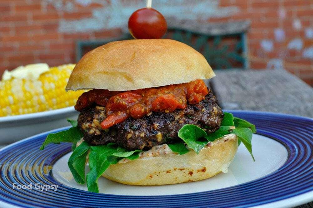 Smoked Gouda Burger - Food Gypsy