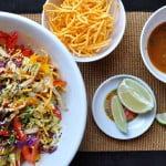 Crispy Asian Noodle Salad, lead - Food Gypsy