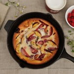 Dutch Baby Pancake with Summer Fruit - Food Gypsy